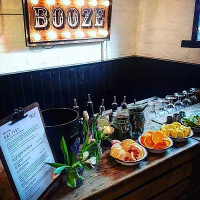 Charity Gin Bar
