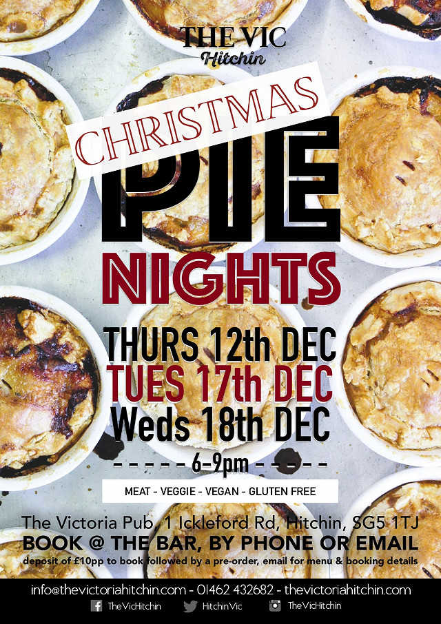 Christmas Pie Night